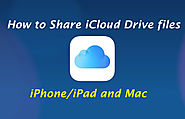 How to Share iCloud Drive files on iPhone/iPad and Mac - 1-800-385-7116