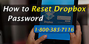 How to Reset Dropbox Password - Recover Dropbox Password - Helpline 1-800-385-7116