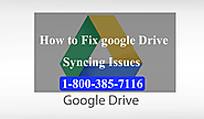How to fix Google Drive sync Problem