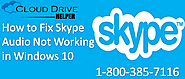 How to Fix Skype Audio Not Working in Windows 10