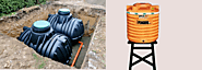 Which One To Choose:Underground Or Above Ground Plastic Water Tank?