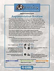 Argumentation Routine - Beetles Project Discussion Routine