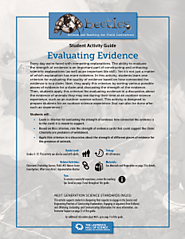 Evaluating Evidence– BEETLES Project Classroom Activity