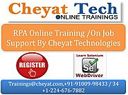 Cheyat Technologies - The Best RPA Online Training and BluePrism Online Training