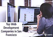 Top Web Development Companies in San Fransisco