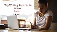 Top Writing Services in Miami