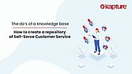 The Do's of a Knowledge Base - How to Create a Repository of Self-Serve Customer Service