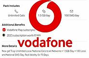 Vodafone Launched Plan of Rs 499, Check Benefits and Validity