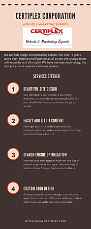 Certiplex Corporation - Website Designing Services at Affordable Cost