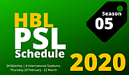 PSL Schedule 2020 and the Social Media Dangers - Sports zilla - Medium