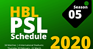 Quickinfoclub: PSL Schedule 2020 an Event Soon to Arrive | Quickinfoclub