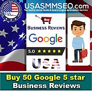 Buy Google 5 Star Reviews - USASMMSEO