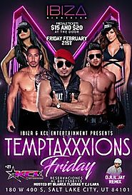 Temptaxxxions Friday at Ibiza Nightclub