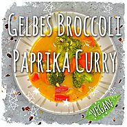 Gelbes Broccoli Paprika Curry (vegan) - So Lecker! (Rezept)