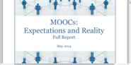 MOOCs: Expectations and Reality