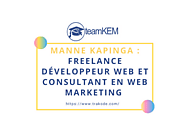 Manne KAPINGA : Freelance Développeur Web Et Consultant En Web Marketing | trakode