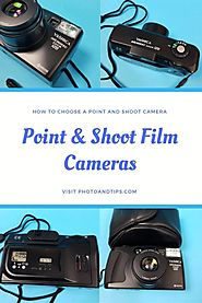 80 Point and Shoot Film Cameras - Infographics
