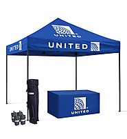 Advertising Tent Canopy With Custom Graphic - Tent Print | Quebec