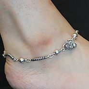 Website at https://www.silverwithsabi.com/anklet/Classic-Silver-Anklet-Design/76