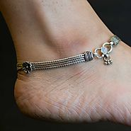 Website at https://www.silverwithsabi.com/anklet/Classic-Silver-Ankle-Chain/73