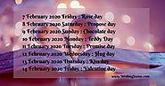 Watch Valentine Week List 2020 Full Schedule Date Sheet Calendar Chart