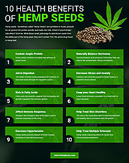 10 Health Benefits of Hemp Seeds You Must Know