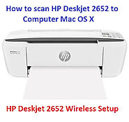 Untitled — How to scan HP deskjet 2652 to computer Mac OS X