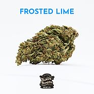 Frosted Lime CBD Flower Strain - Sold in 1 gram to 28 grams Options