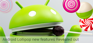 updates in new Android Lollipop