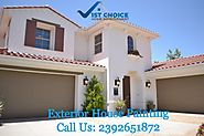 Exterior House painting Fort Myers