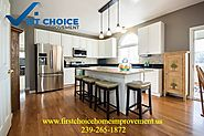 Website at https://www.firstchoicehomeimprovement.us/kitchen-remodeling/