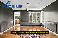 Professionals for Interior House Painting in Fort Myers