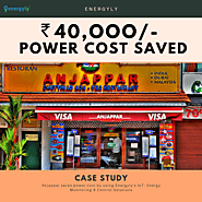 Case Study : Anjappar makes profit from reducing power consumption using Energyly - Blog Energyly - Energy Monitoring...