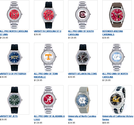 Sports Team Logo Watches at SportsFanGalaxy