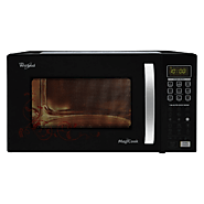 Whirlpool 23 L Convection Microwave Oven (Magicook Flora, Black)