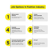 Job Option in the Fashion Industry