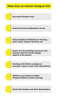 What Does an Interior Designer Do? | JD Institute