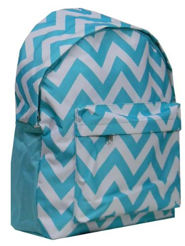 Headline for Best Aqua Chevron Backpack for Girls - College, Teen and Toddlers