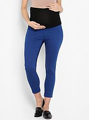 Momsoon Indigo Jeggings – MomSoon Maternity and Nursing Wear