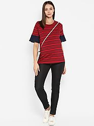 Momsoon Maternity Basic Slim Fit Denim – MomSoon Maternity and Nursing Wear