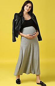 Long Skirt – MomSoon Maternity and Nursing Wear