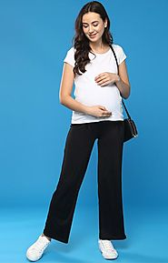 Yoga Pants With Drawstrings – MomSoon Maternity and Nursing Wear