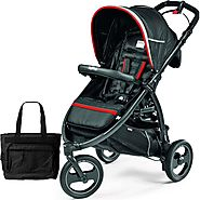 Book Cross Synergy Peg Perego Baby Stroller With Bag