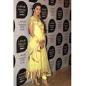 Asin Lakme Fashion Week Lemon Yellow Long Anarkali Suit
