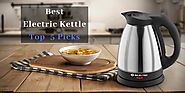 Best Electric Kettle - The Ideal Companion For Your Train Journey