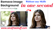 Remove Background From Image Without Software - Yes Its Possible In One Click 2020
