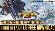 PUBG BETA 0.17.0 | Free Download Update Able PUBG BETA Version
