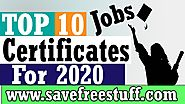Professional Certificate | Top 10 High Paying Professional Certifications For IT Jobs 2020