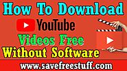 YouTube Downloader | How To Download YouTube Video In Computer With FHD Formats 2019-2020