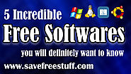 5 Incredible Free Software You'll Wish You Knew Earlier 2019 - 2020